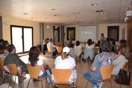 Visita alumnes aula Sant Feliu a Yuzz Sant Feliu 2015