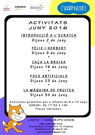 cartel Junio