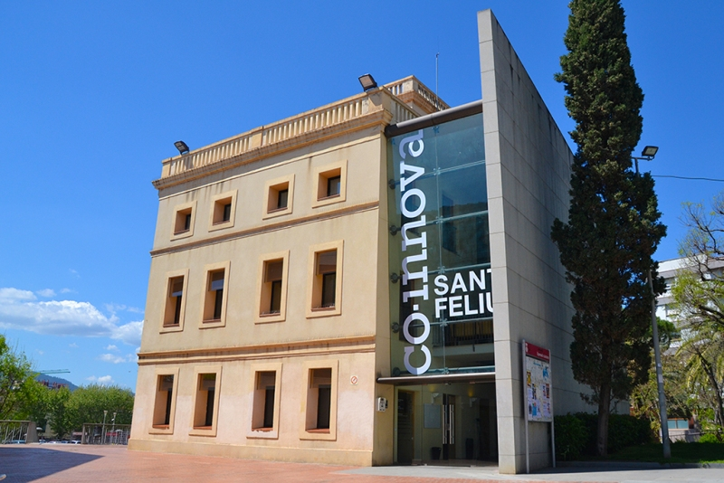 Punt TIC Sant Feliu de Llobregat. Edifici CO-Innova Sant Feliu. Torre del Roser.